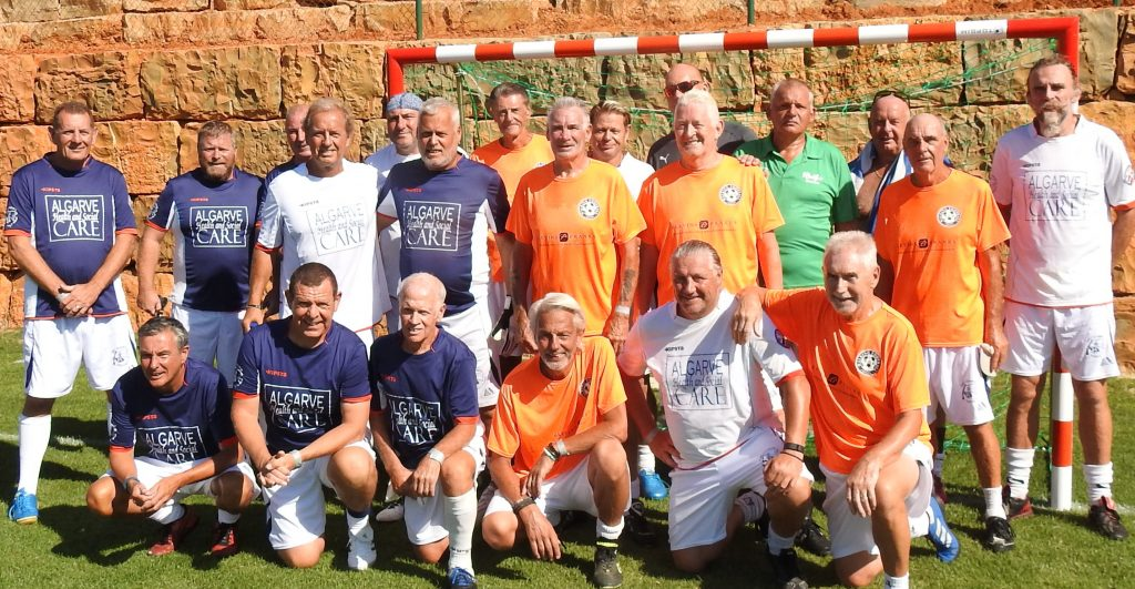 Three of the EAWF teams at Vilamoura